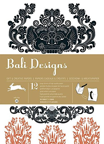 Bali Designs: gift and creative paper book vol. 45 por Pepin van Roojen