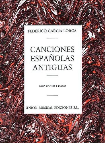 CANCIONES ESPANOLAS ANTIGUAS por Autores varios
