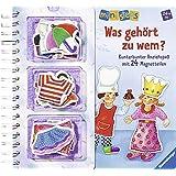 ministeps® Bücher: Was gehört zu wem?: Kunterbunter Anziehspaß mit 24 Magnetteilen.  Ab 24 Monaten