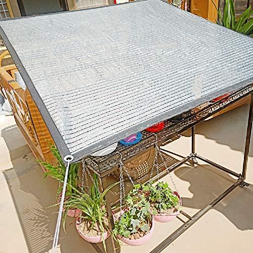 Panno all'ombra di alluminio telo ombreggiante con occhielli, rete per serre a effetto serra per serre da giardino (dimensioni : 2x5m)