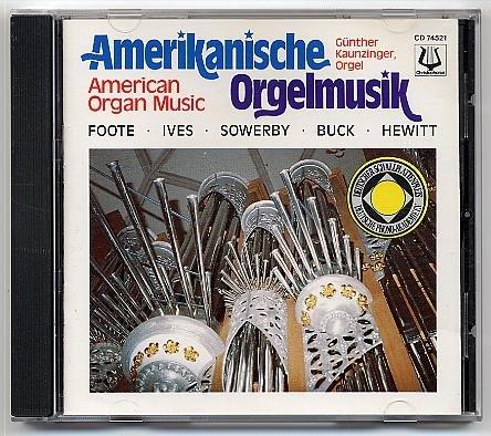 Amerikanische Orgelmusik (Deut