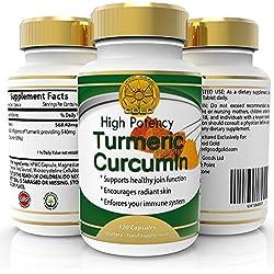 Suplemento Anti-Inflamatorio de Cúrcuma, 120 cápsulas