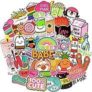QTL Cute Girl Stickers for Water Bottles Stickers for Kids VSCO Stickers for Hydroflask Stickers Waterproof Gi