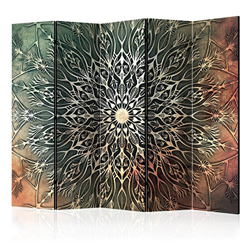 murando - Biombo - Mandala 225x172 cm - de impresión Unilateral en el