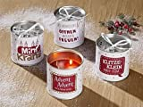 Gilde Metall Kerze Adventskranz to go H 10 cm D = 10 cm