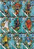 PANINI ADRENALYN XL FIFA 365 2019 Komplett-Set von 9 Keyspielern – Power-Up-Karten.