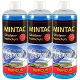 MINTAC 3x 1000 ml Konzentrat -70°C (7046) -- Waschanlagenzusatz Scheibenfrostschutz Antifrost Enteiser Frostschutz Scheibenreiniger Scheinwerferreiniger Eisfrei Glasreiniger Scheibenreiniger - ABACUS
