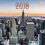 NOUVELLES IMAGES Calendrier 29 x 29 cm New York City NYC 2018...