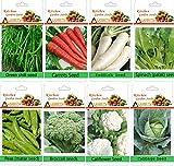 alkarty winter vegetable seeds kit-13 fo...