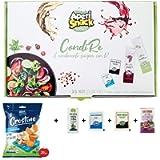 Aperisnack® - AP20.001.07 Condimenti per Insalate e Crostini Mediterranei 25 Kit (100pz) bustine di Sale, Pepe, Olio e…