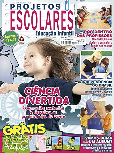 Projetos Escolares Educação Infantil Ed 100 (Portuguese Edition ...