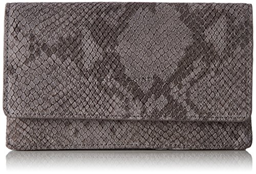 Liebeskind Berlin Damen Inglewood Serpen Geldbörse, Mehrfarbig (Snake Grey), 4 x 10 x 19 cm (Leder Geldbörse Animal)