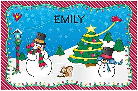 Set de table de Noël–Emily
