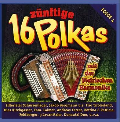 16 Polkas/Steirische Harmonika Folge 4