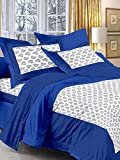 cotton king size double bedsheet with 2 ...
