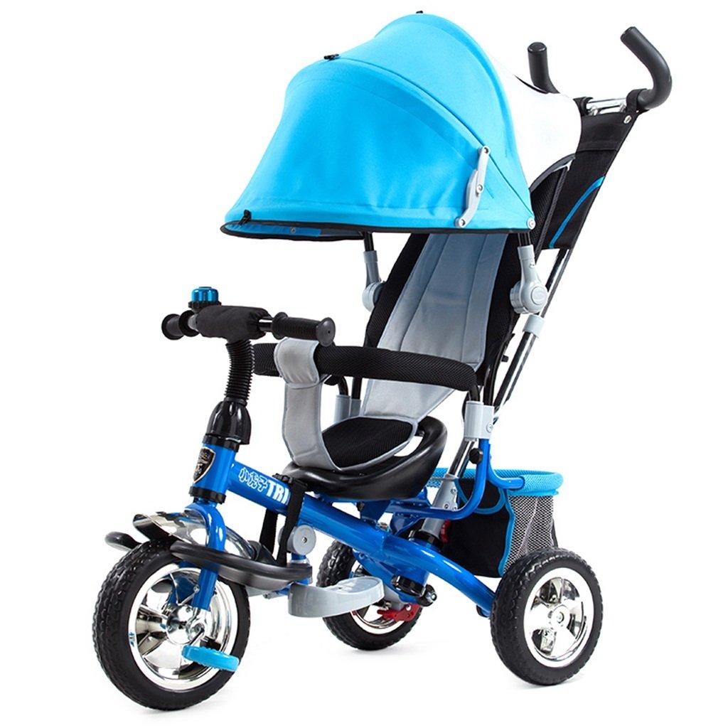 Qiangzi Nuovo Triciclo del bambino di 3 ruote di Bambini Carrello Triciclo Carrozzine Bambino Bicic