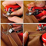#2: Generic Random Color Portable Mini Hand-Held Clothes Fabrics Sewing Machine Use Mini Convenience Cordless Sewing Machine Household