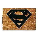 'HC di Handel 923252Zerbino 'Superman in fibra di cocco 60x 40cm Natura/Nero