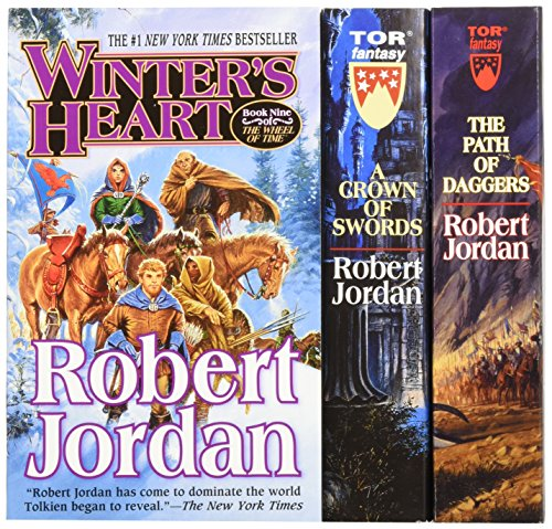 The Wheel of Time, Boxed Set III, Books 7-9: A Crown of Swords, the Path of Daggers, Winter's Heart par Robert Jordan, Marsh Jordan