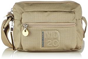 Mandarina Duck MD20 TRACOLLA PIRITE 16TT7 - Bolso al hombro para mujer, color beige, talla 21x15x8 cm de Mandarina Duck