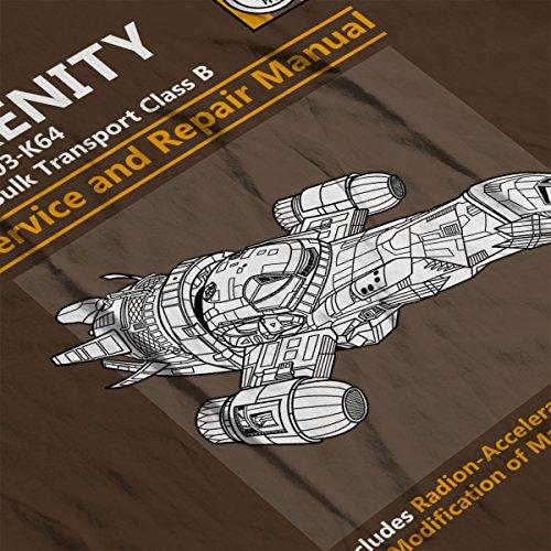 Firefly Serenity Service And Repair Manual Women's Sweatshirt Chocolat