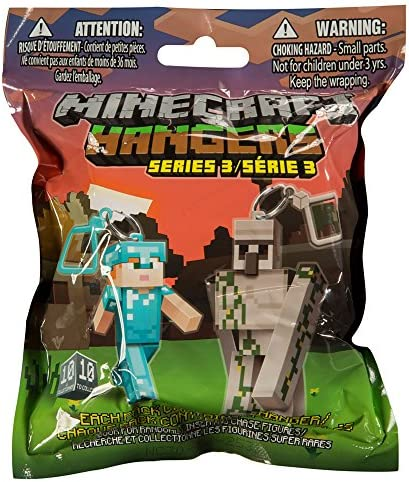 Minecraft Hangers - Series Series Series 3 - Blind Pack - Mystery Pack | Mode Attrayant  c2d188