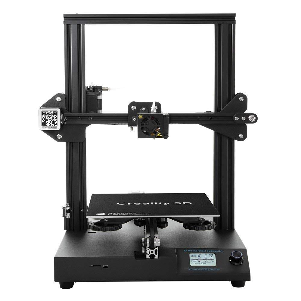 Officielle Creality 3D CR-20 Imprimante 3D Structure entièrement en métal – MK10 avec Reprise d'impression 24v 220x220x250mm