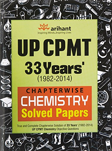 Up CPMT 33 Years' Chapterwise Chemistry Solved Papers (Old Edition)