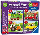 Ravensburger 7303 My First Puzzle Travel Far Jigsaw Puzzles - 2, 3, 4