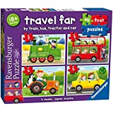 Ravensburger My First Puzzle, Travel Far (2, 3, 4 & 5pc) Jigsaw Puzzles