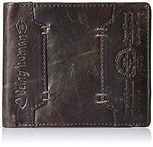 Being Human Brown Men's Wallet (BHMW5004-WINE)