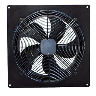 Airtech industriellen Abluftventilator Ventilator Auspuff Leistungsstark Low Noise für Lager Restaurant Garage Küche 200 mm