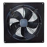 Extracteur d'air industriel Airtech - Silencieux et puissant - Pour entrepôt, restaurant, garage, cuisine 200mm