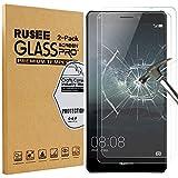 [2 Pack] Huawei Mate S Protection d'écran, Rusee Protecteur d'écran Film en verre trempé Film Vitre [Haute Définition] [Sans bulle] [9H Dureté] Pour Huawei Mate S