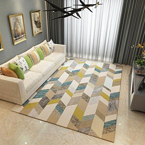 Alfombras Salon Baratas Pelo Largo Gris Modernas Dormitorio Lavables Infantiles Pasillo Grandes Baratas Azules, JY028 Cosy-L , 120*160cm