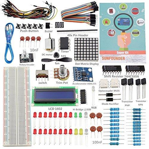 SunFounder Project Super Starter Kit for Arduino UNO R3 Mega2560 Mega328 Nano (MEHRWEG)
