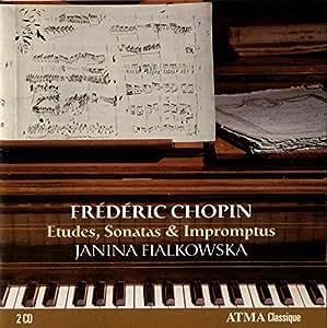 Chopin: 12 Etudes op10 & 25, Piano Sonata 2, 3, Impromptus