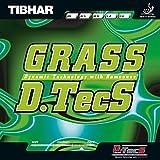 Tibhar Grass D.Tecs Table Tennis Rubber (Red)