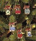 #2: Set of 6 Mini Mason Jar Ornaments
