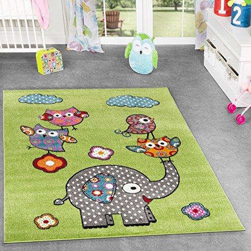 tapis-de-jeu-poils-courts-pour-chambre-denfant-motif-zoo-et-animaux-vert-gris-rose-fuchsia-80x150-cm