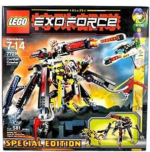 LEGO Exo Force Set Special Edition #7721 Combat Crawler X2