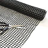 Sous-couche Top Home Solutions multi-usage antidérapant durable pour fixer les tapis 100x 150cm.
