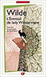 L'Eventail de Lady Windermere par Wilde