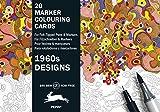 1960s Design: Marker Colouring Postcards