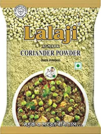 Lalaji Supreme Quality Coriander Powder Used in Dishes for its Taste and Color 200 Gm (200)