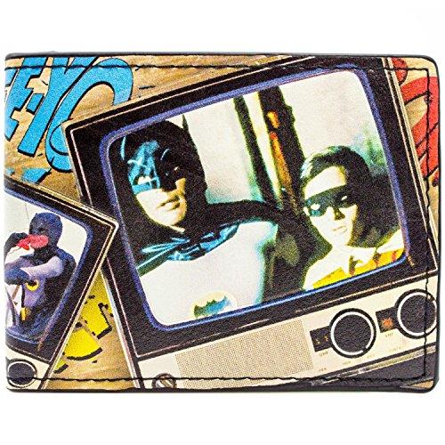 DC Comics Batman Fernsehserie Mehrfarbig Portemonnaie Geldbörse
