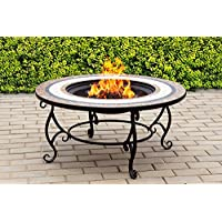 Centurion Supports Fireology TOPANGA Garden Heater/Fire Pit/Coffee Table/Barbecue/Ice Bucket - Ceramic Finish