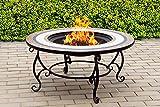 CENTURION Supports fireology Topanga Garten Heizung/Fire Pit/Couchtisch/Grill/Ice Bucket–Keramik Oberfläche