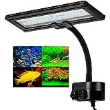 Hygger Luces para Acuarios,Luz LED Acuario Lluminación LED para Acuarios Plantados Lámpara LED para Peceras Lámpara de Acuari