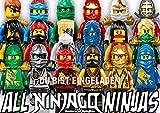 Lego Ninjago Einladungskarten 12er Set inkl. 12 Umschläge N18